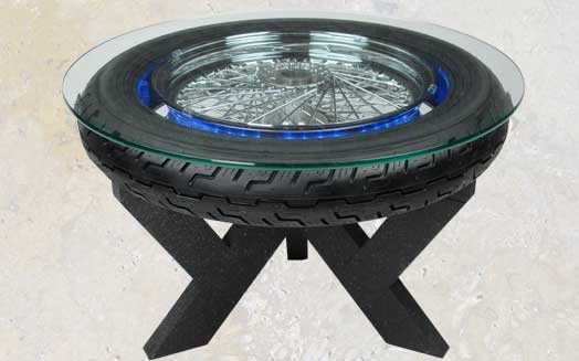 Auto Wheel amp Tire Coffee Table